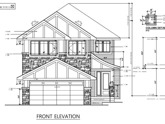 Structerra Homes - 5737 Keeping cres_front