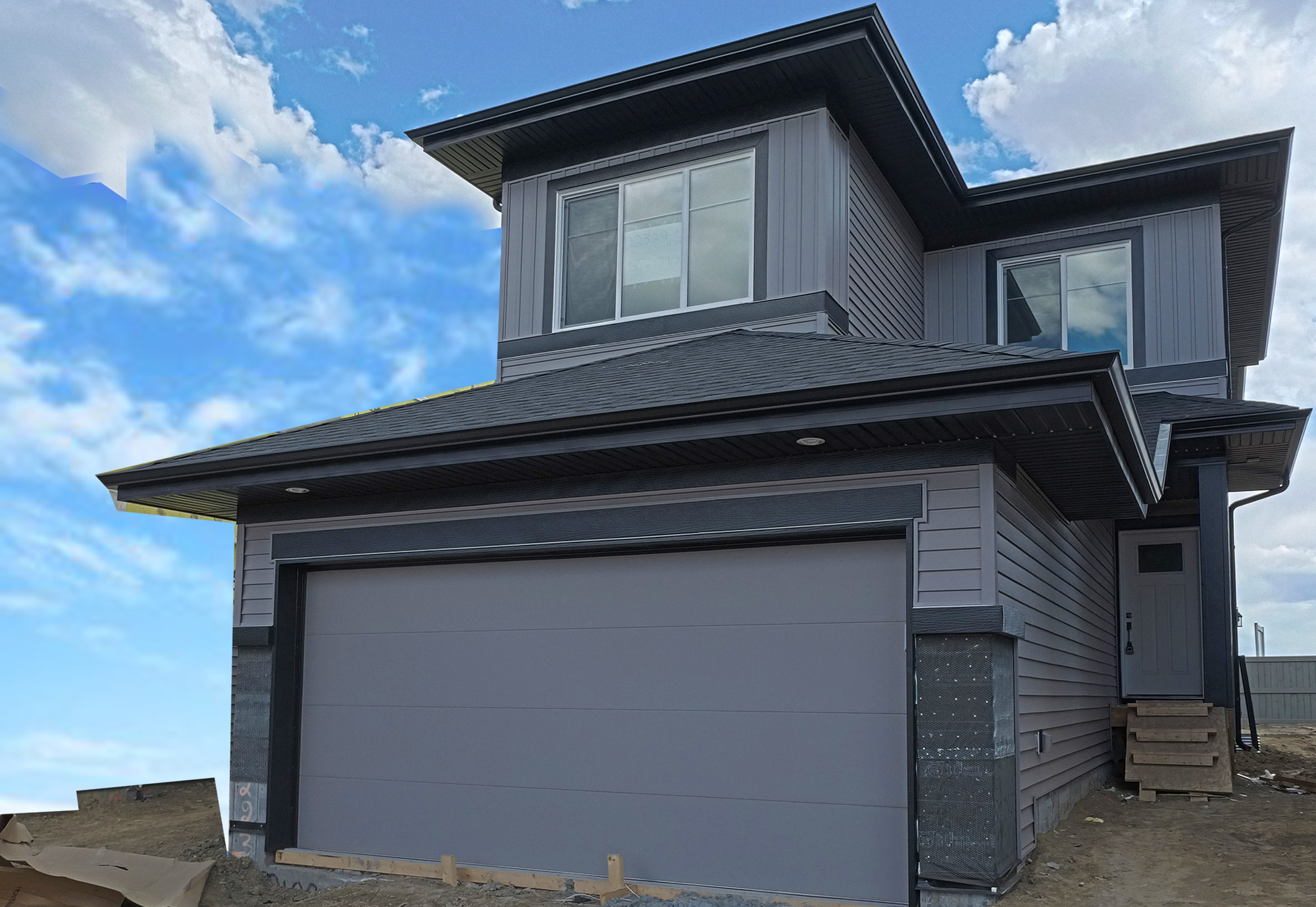 2 story 1622 sqft attached garage (Secord) and legal basement